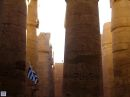 Karnak Temple was one of the most beautiful sights we saw in Egypt, and we actually went back a second time to spend more time taking it all in.