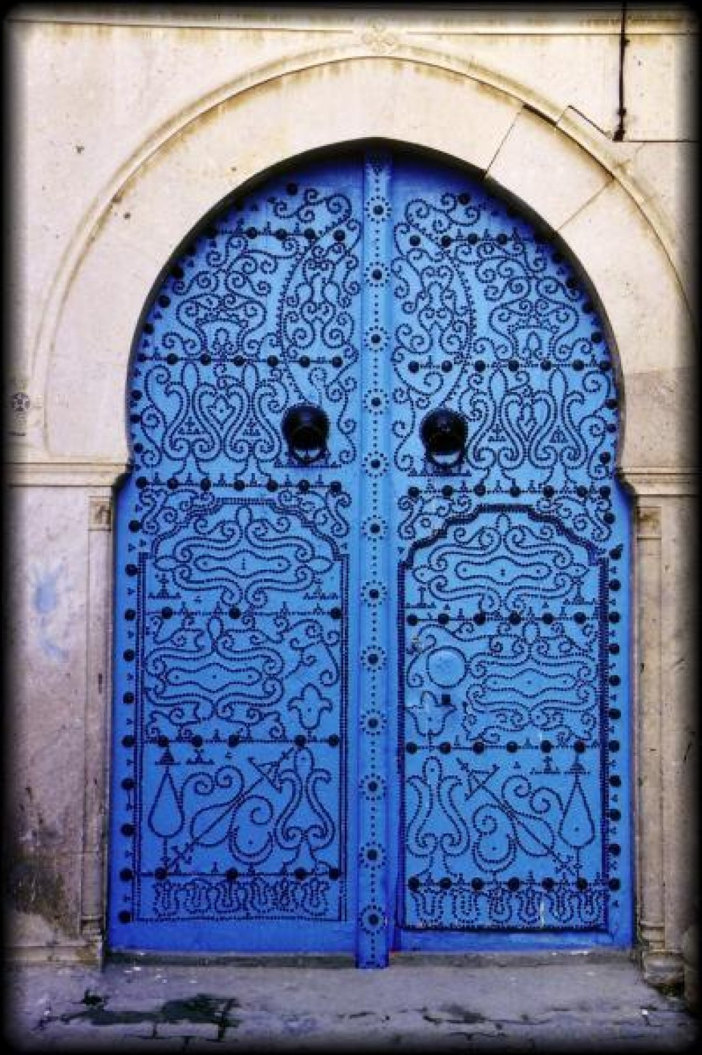 Tunisia is known for it's intricately carved doors.  The door is often the centerpiece of the house.